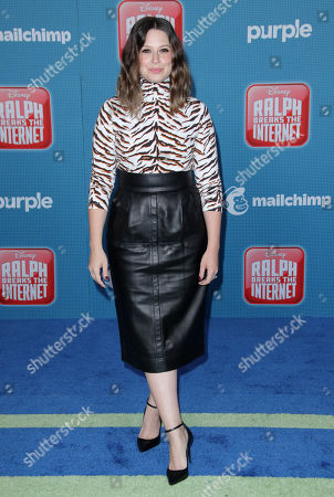 Editorial photo of 'Ralph Breaks The Internet' film premiere, Arrivals, Los Angeles, USA - 05 Nov 2018