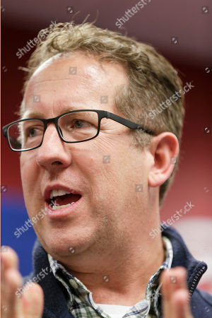 Stock Image of Rep. Adrian Smith, R-Neb., speaks during a stop in Lincoln, Neb., . Rep. Smith is running for reelection in Nebraska's 3rd Congressional District