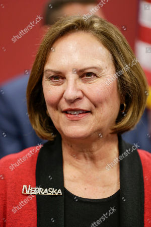 Sen. Deb Fischer, R-Neb., is seen during a campaign stop in Lincoln, Neb., . Sen Fisher is challenged in the elections by Democrat Jane Raybould