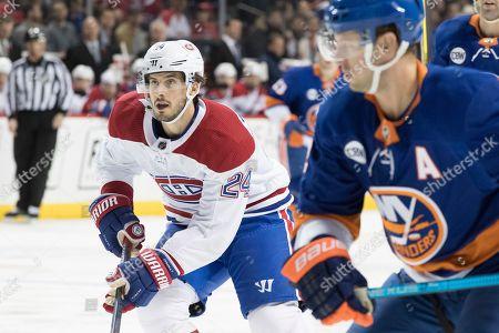 Editorial image of Canadiens lslanders Hockey, New York, USA - 05 Nov 2018