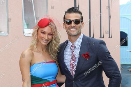 Stock Photo of Anna Heinrich and Tim Robards