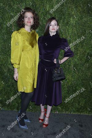 Batsheva Hay and Mackenzie Foy