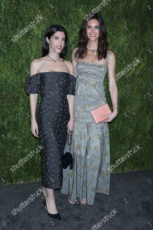 Stock Picture of Danielle Corona and Hilary Rhoda