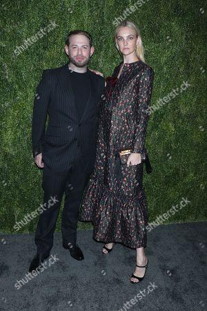 Jonathan Cohen and Caroline Trentini