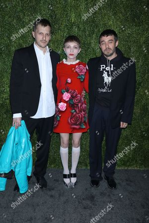 Christopher Peters, Tavi Gevinson, Shane Gabier