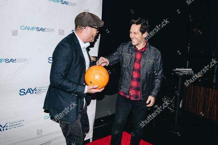 Editorial image of 7th Annual Paul Rudd All-Star Bowling Benefit, New York, USA - 05 Nov 2018
