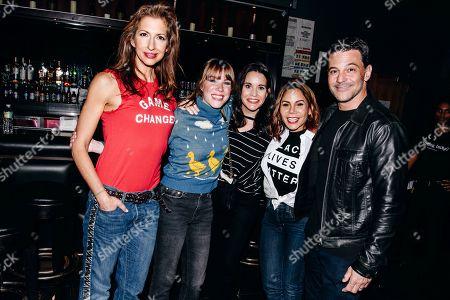 Alysia Reiner, Emma Myles, Jenna Leigh Green, Daphne Rubin-Vega, David Alan Basche