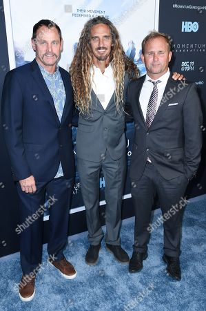 Taylor Knox, Rob Machado, Pat O'Connell