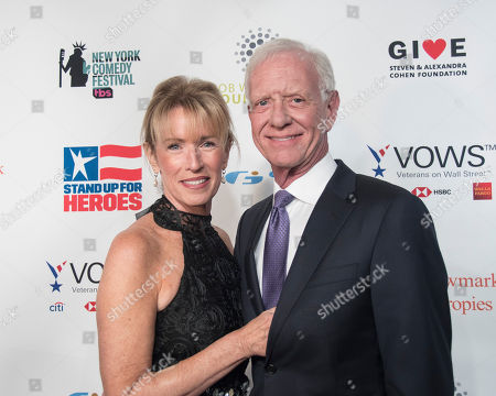 Lorrie Sullenberger and Captain Chesley Sullenberger