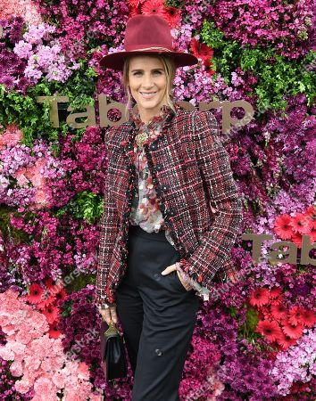 Stock Photo of Australian actress Rachel Griffiths is seen outside Tabcorp marquee during the Lexus Melbourne Cup Day, as part of the Melbourne Cup Carnival, at Flemington Racecourse in Melbourne, Victoria, Australia, 06 November 2018.