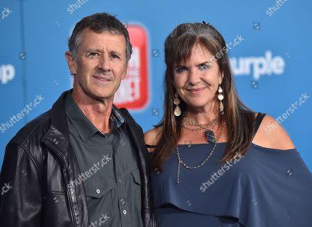 Stock Photo of Barry Oswick and Jennifer Hale