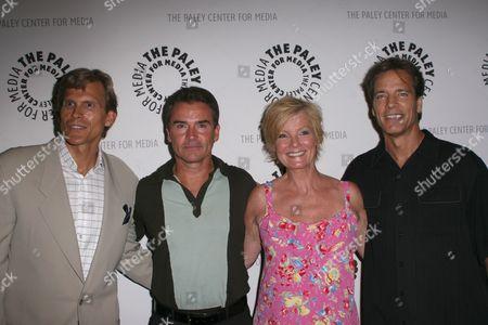 Stock Image of Grant Aleksander, Kurt McKinney, Ellen Dolan, Bradley Cole