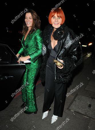 Stock Image of Mary Portas and Melanie Rickey