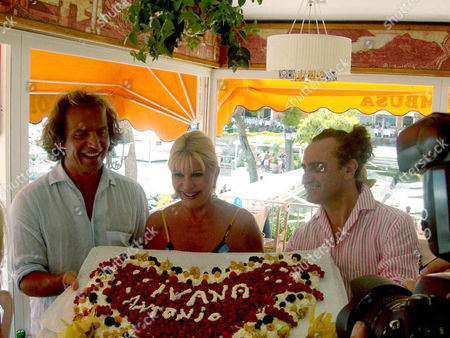Editorial image of Official engagement for Ivana Trump and Antonio Zequila in Positano, Naples, Italy - 20 Aug 2009