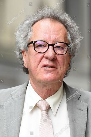 Australian actor Geoffrey Rush arrives at the Federal Court in Sydney, New South Wales, Australia, 06 November 2018. Rush is suing Nationwide news for defamation.