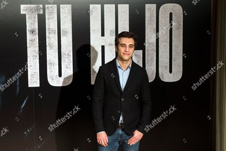 Pol Monen poses during the presentation of the film 'Tu Hijo' (Your Son) in Madrid, Spain, 06 November 2018. The movie, directed by Spanish Miguel Angel Vivas, will be premiered on 09 November.