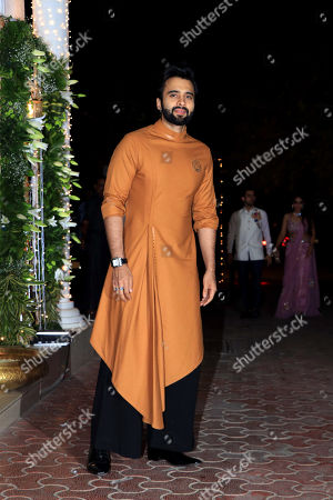 Actor Jackky Bhagnani attend Shilpa Shetty's Diwali party at Juhu in Mumbai.