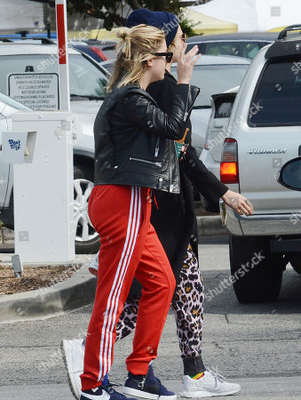 Editorial photo of Cara Delevigne and Ashley Benson out and about, Los Angeles, USA - 05 Nov 2018