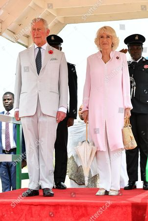 Prince Charles and Camilla Duchess of Cornwall tour of Nigeria, Day 1