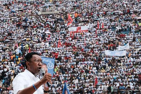 Editorial photo of Elections, Antananarivo, Madagascar - 03 Nov 2018