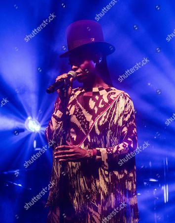Morcheeba - Skye Edwards in concert at Alcatraz