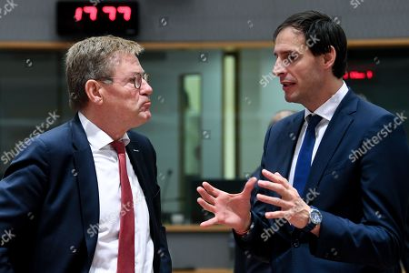 Woke Hoekstra and Johan Van Overtveldt