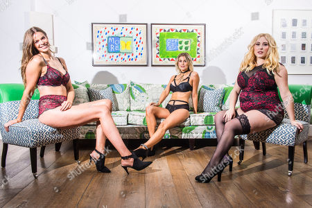 Editorial picture of Simply Be's Christmas lingerie collection photocall, London, UK - 06 Nov 2018