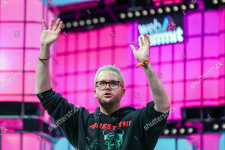 The whistleblower Christopher Wylie speaks on the second day of the 2018 Web Summit in Lisbon, Portugal, 06 November 2018. The 2018 Web Summit, considered the largest innovation event of startups and technological entrepreneurship in the world, takes place from 05 to 08 November at the Altice Arena and FIL pavilion, in Parque das Nacoes, Lisbon.