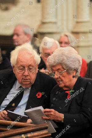 Stock Image of Former Speaker of the House Dame Betty Boothroyd.