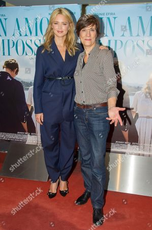 Editorial image of 'Un amour impossible' film premiere, Paris, France - 05 Nov 2018