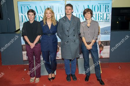 Editorial photo of 'Un amour impossible' film premiere, Paris, France - 05 Nov 2018