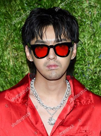 Kris Wu attends the 15th annual CFDA / Vogue Fashion Fund event at the Brooklyn Navy Yard, in New York