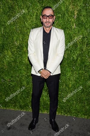 Stock Picture of Gilles Mendel attends the 15th annual CFDA / Vogue Fashion Fund event at the Brooklyn Navy Yard, in New York