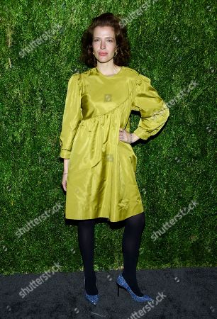 Batsheva Hay attends the 15th annual CFDA / Vogue Fashion Fund event at the Brooklyn Navy Yard, in New York