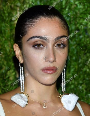 Lourdes Leon attends the 15th annual CFDA / Vogue Fashion Fund event at the Brooklyn Navy Yard, in New York