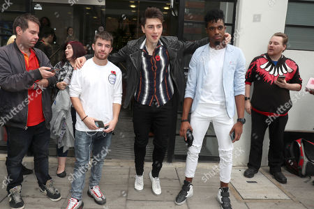Stock Picture of Anthony Russell, Brendan Murray & Dalton Harris