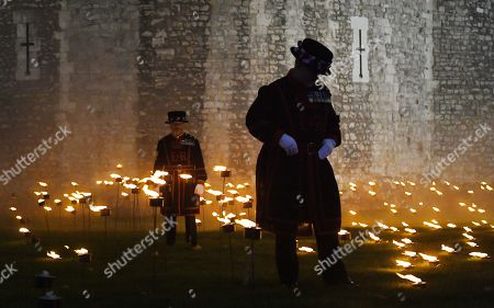Editorial picture of Beyond The Deeping Shadow First World War Armistice centenary, London, United Kingdom - 06 Nov 2018