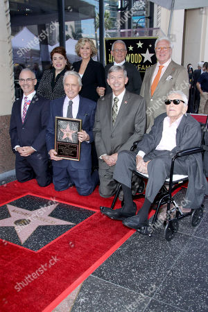 Editorial picture of Michael Douglas Honored  with a Star on the Hollywood Walk of Fame, Los Angeles, USA - 06 Nov 2018