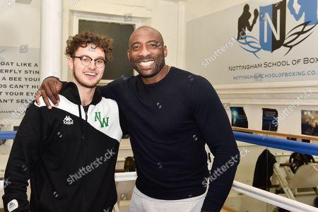 Jonny Nelson and Jake Meskell Notts