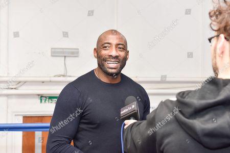 Editorial picture of Herol Graham visits Nottingham school of Boxing, Nottingham, UK - 04 Nov 2018