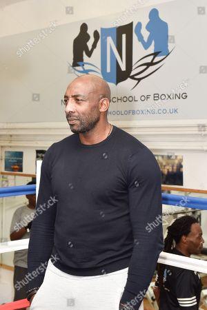 Editorial photo of Herol Graham visits Nottingham school of Boxing, Nottingham, UK - 04 Nov 2018