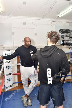 Editorial image of Herol Graham visits Nottingham school of Boxing, Nottingham, UK - 04 Nov 2018