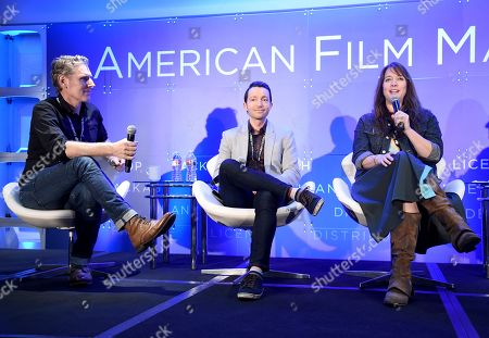 Peter Baxter, President & Co-Founder, Slamdance Film Festival, Filmmaker, Josh Mandel, Producer, Industry Standard Films, and Dana Nachman, Director/Producer, KTF Films