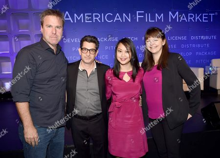 Basil Iwanyk, Founder, Thunder Road Pictures, Clay Epstein, President, Film Mode Entertainment, Cybill Lui, Producer, Anova Pictures, and Lisa Gutberlet, EVP, International Sales & Acquisitions, Blue Fox Entertainment