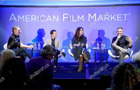Editorial image of American Film Market, Day 7, Los Angeles, USA - 06 Nov 2018