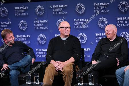 Peter Billingsley, Michael Price, Bill Burr