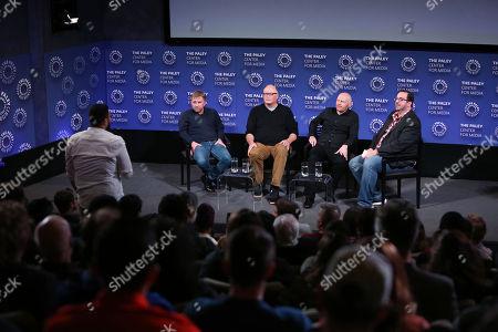 Stock Photo of Peter Billingsley, Michael Price, Bill Burr, Alan Sepinwall