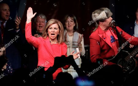 Marsha Blackburn, John Rich. Rep. Marsha Blackburn, R-Tenn., sings along with John Rich, right, after addressing supporters after she was declared the winner over former Gov. Phil Bredesen in their race for the U.S. Senate, in Franklin, Tenn
