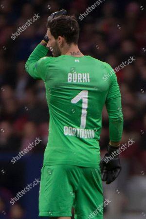 Borussia Dortmund?s player Roman Burki