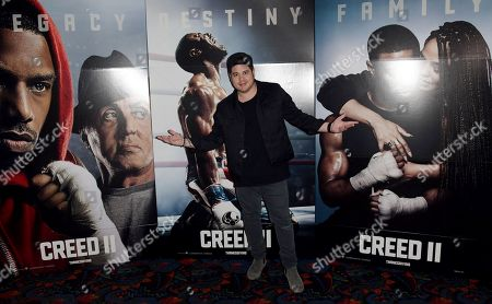 Editorial photo of 'Creed II' film screening, Miami Beach, USA - 06 Nov 2018